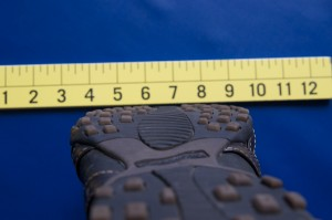 Sketcher casual shoe with a flat bottom instead of concaved or working against the transverse arch of forefoot
